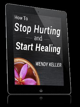 stop hurting start healing
